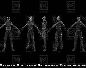 3D print model Spiderman Far From Home Stealth Suit for 1