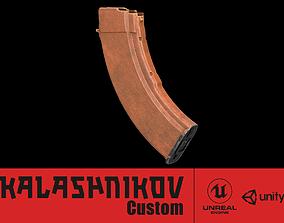 3D model AK - Magazine -Bakelite