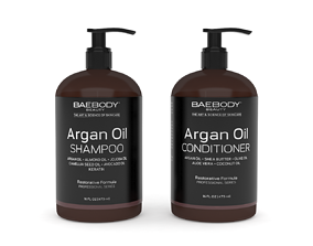 3D Moroccan Argan Oil Shampoo and Conditioner