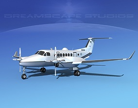 3D Beechcraft MC-12W Liberty V01