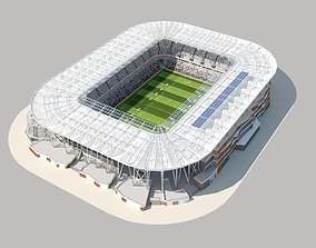 Bankwest stadium 3d model