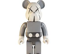 3D lego bearbrick