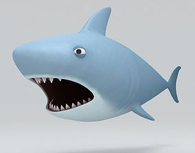 3D model Shark character