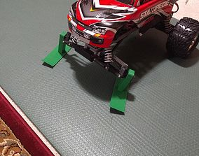 Skis for Traxxas Stampede 2WD 12mm 3D print model