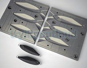 3D print model 30-40-60 Gr D TETRO Metal Jig Mold