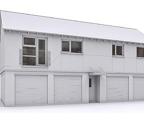 3D asset Townhouse 04
