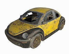 Abandoned Car 12 3D model