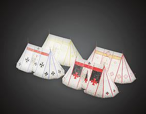 3D model Tent - MVL - PBR Game Ready