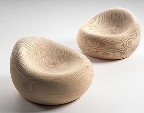 Maui Armchair 3D