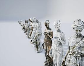 Sculptures Pack Vol1 3D model