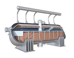 Condensate Reactor Cooling Tank 3D model