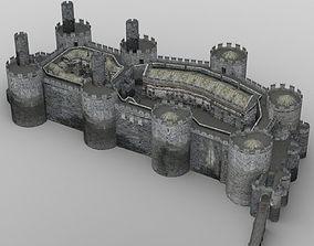 Castle Set 1 for DAZ Studio 3D model