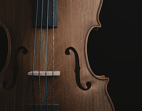 violin Cello 3D model