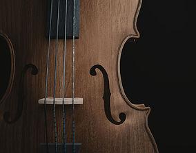 violin Cello 3D model