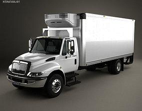 International Durastar Box Truck 2002 3D