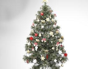3D model holiday christmas tree