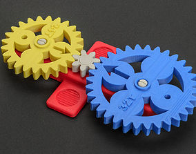 3D printable model Math Gears