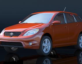 matrix 3D model Toyota Matrix