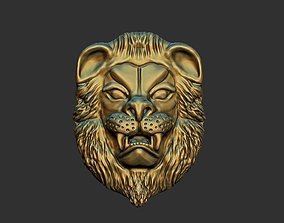 lion head overlay 3D print model