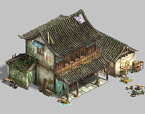 3D model Small town - residential 05