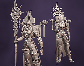 3D Girl of a thousand sons - WARHAMMER