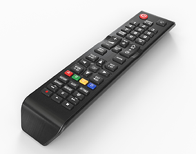 3D model VR / AR ready Low-poly TV Remote