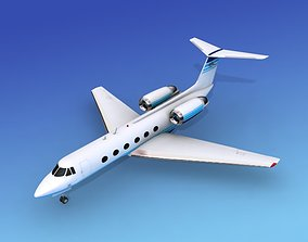 Grumman Gulfstream IV V03 3D model
