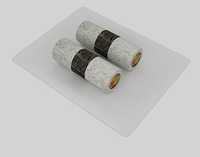 3D Cylinder Sushi Nori Strip