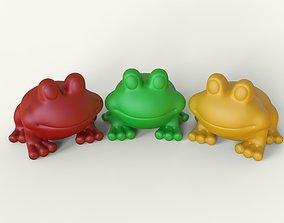 duck 3d model frog