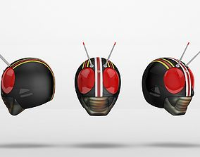 3D print model Kamen Rider Black