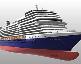 Holland America Line cruise ship MS Koningsdam printable