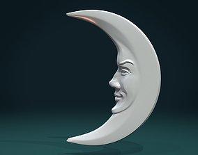 3D print model Crescent relief