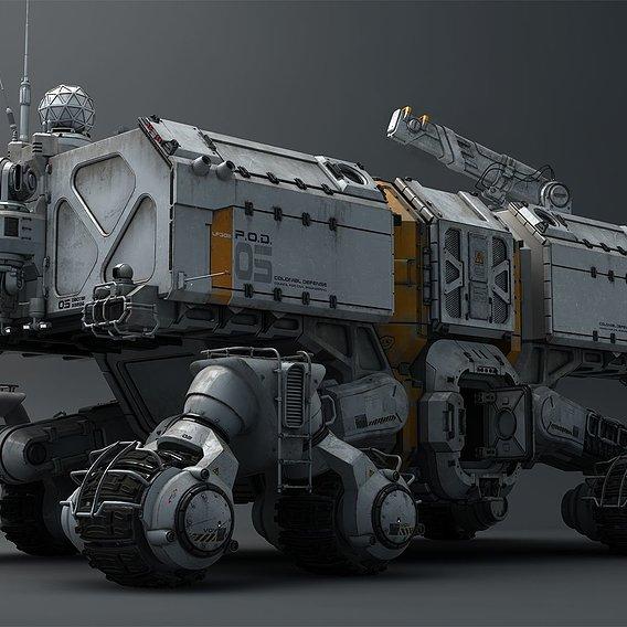 ROAMER - Exploring vehicle