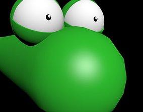 Green Worm 3D model