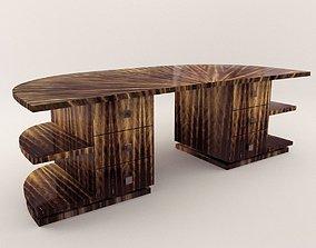 3D Mens desk - Art Deco style