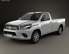 Toyota Hilux Single Cab SR 2015 3D model