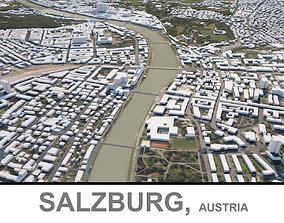 3D model Salzburg in Austria