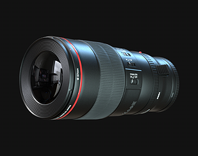 3D Canon Camera Macro Lens 100mm