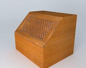 Kitchen Red Fair Cabinet brw 3D model