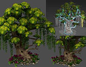 tree flora 3D model