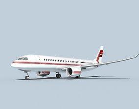 Bombardier CS100 Corporate 1 3D model