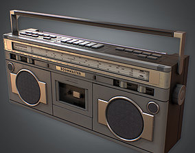 3D model 80s - Boombox Retro