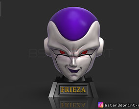 Frieza Head - frieza Mask - Helmet 3D printable model 2