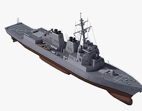 Arleigh Burke Destroyer DDG68 3D