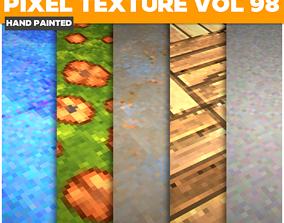 3D asset Pixel Vol 98 - Game PBR Textures