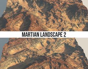 3D model Martian Landscape 2 8k Heightmap Pack