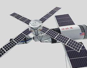 skylab launch 3D model