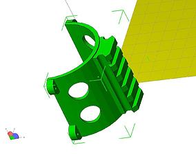 3D print model AR-15 hand guard mount adapter