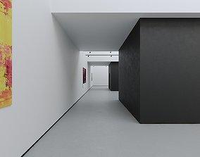 VR Art Gallery 2020 4K Corona Max Scene 3D asset