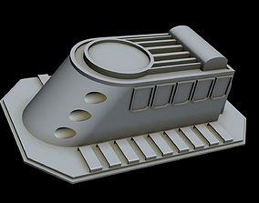 3D model Starship part 3